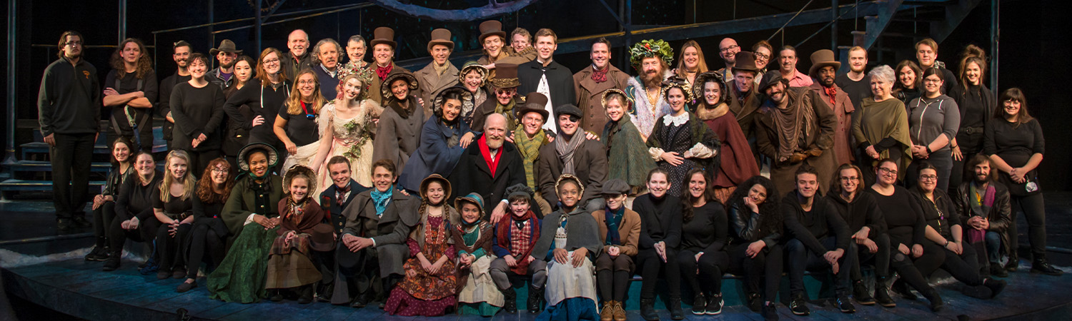 A Christmas Carol, Clarence Brown Theatre, Fall 2019