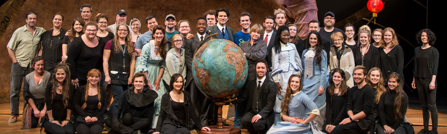Around The World in 80 Days, Clarence Brown Theatre, Spring 2017