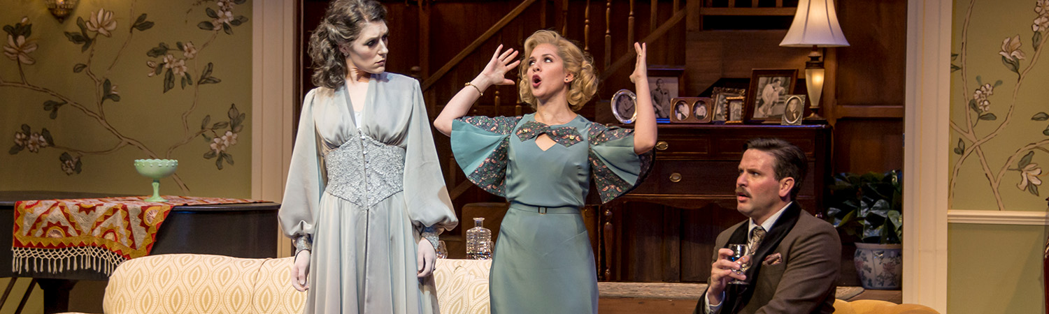 Blithe Spirit, Clarence Brown Theatre, Spring 2020