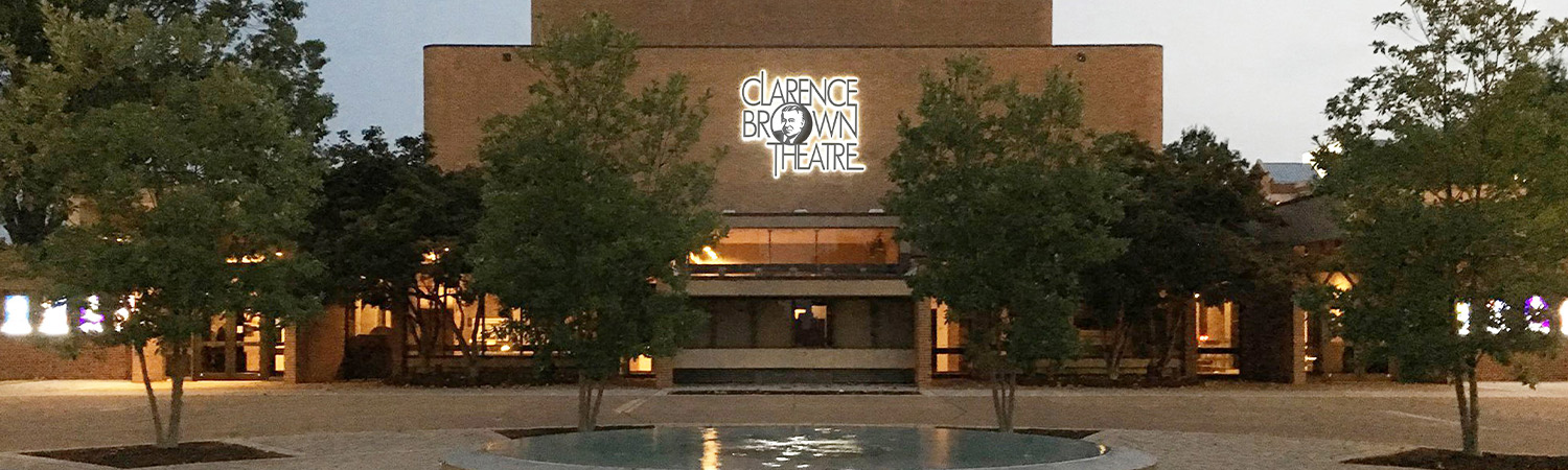 Clarence Brown Theatre Plaza