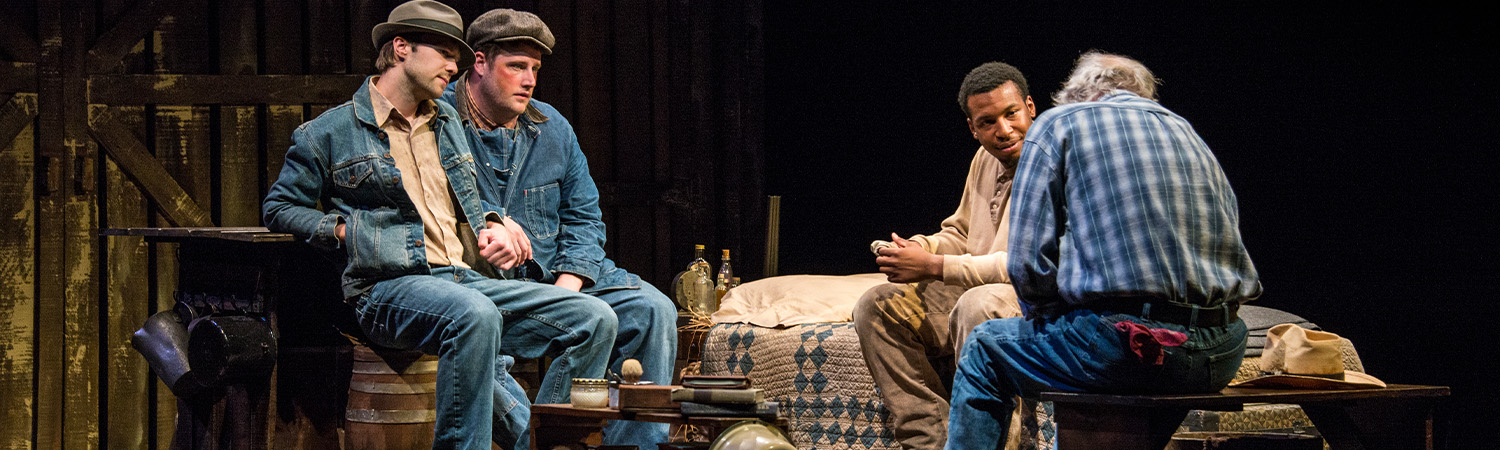 Of Mice and Men, Carousel Theatre, Fall 2015-1