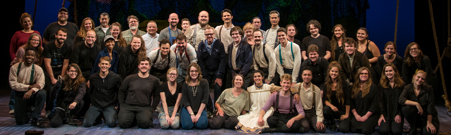 Peter and the Starcatcher, Clarence Brown Theatre Fall 2017