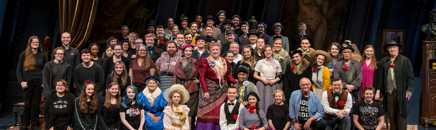 The Madwoman of Chaillot, Clarence Brown Theatre, Spring 2019