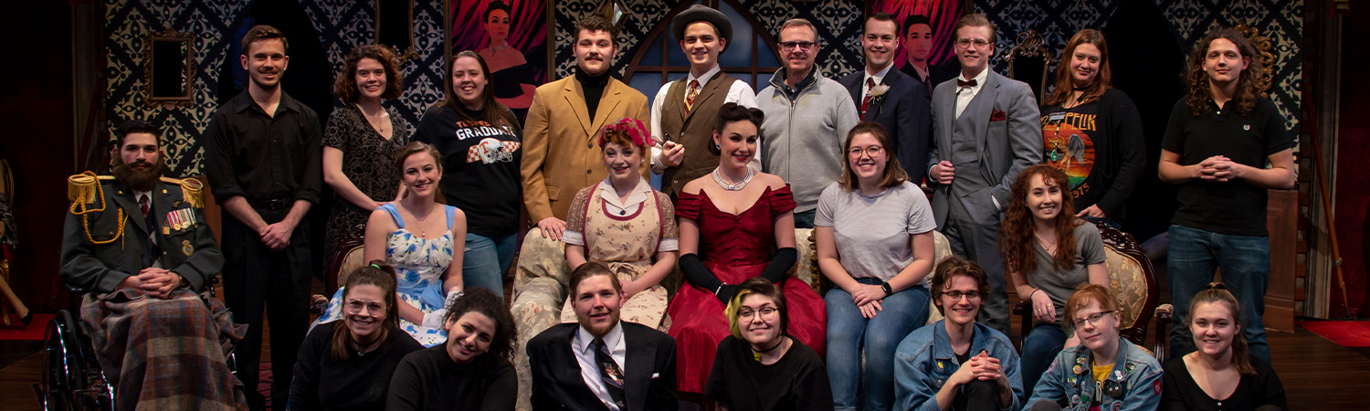 The Real Inspector Hound, Lab Theatre, Spring 2019