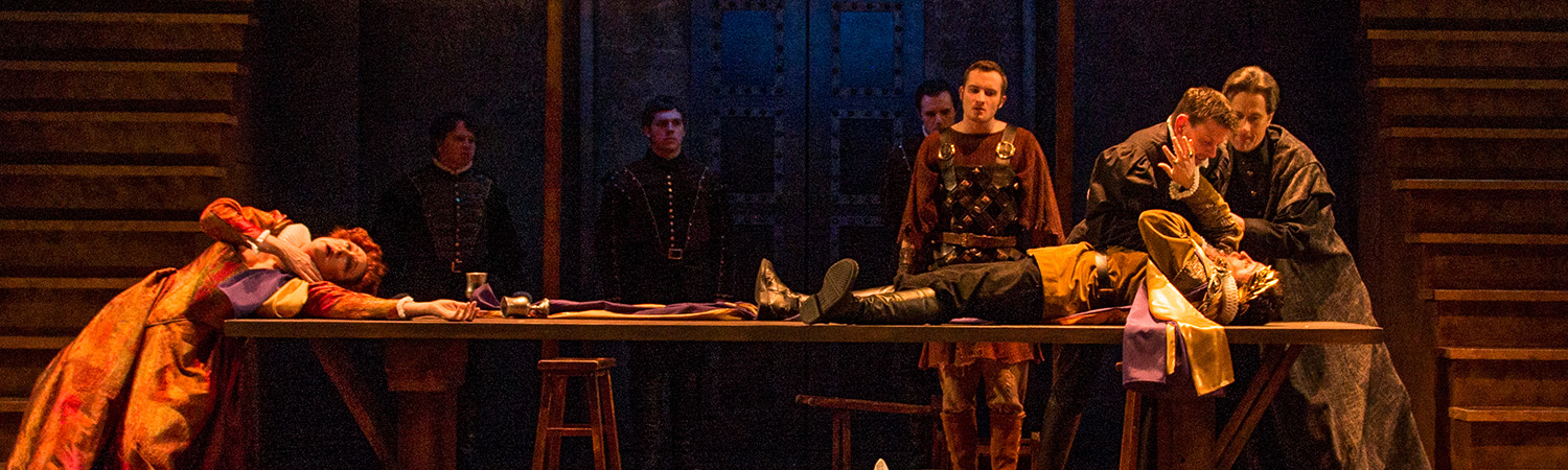 Titus Andronicus, Clarence Brown Theatre, Spring 2016
