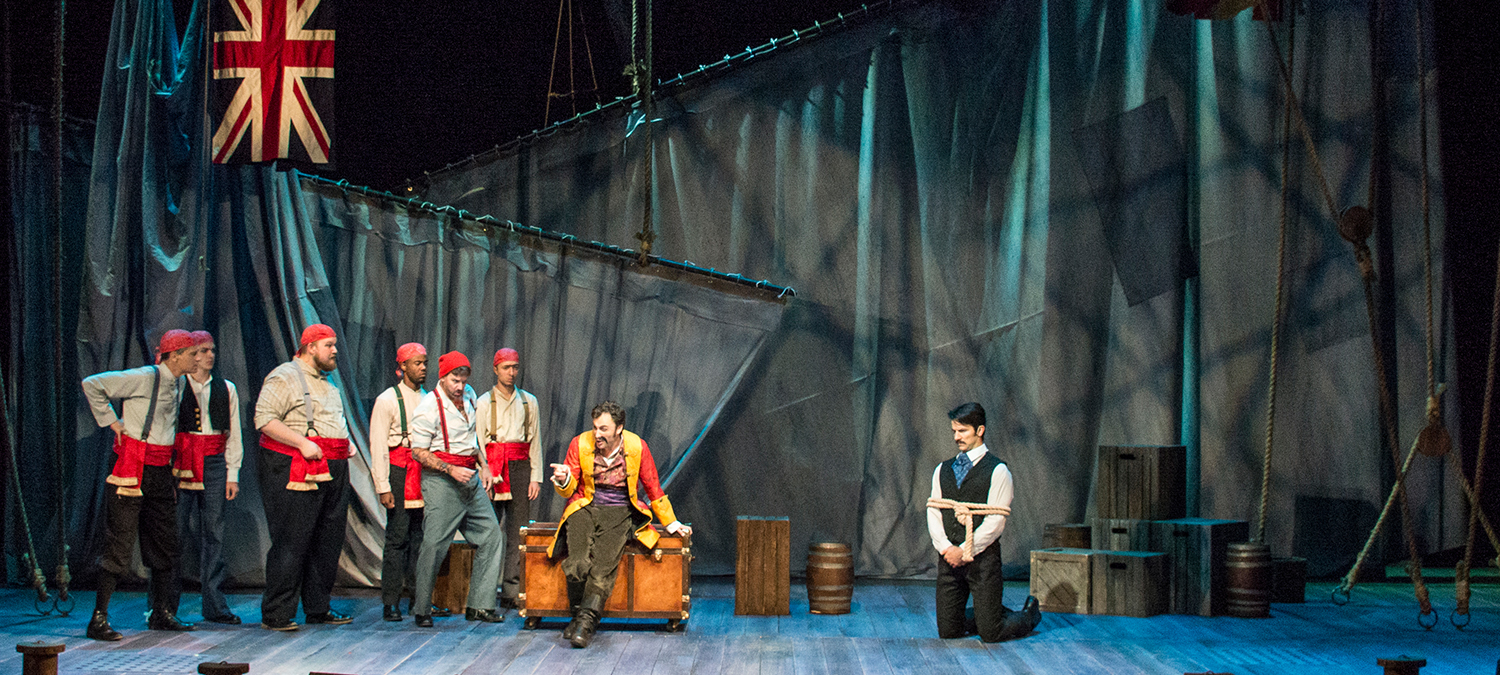 Peter and the Starcatcher, Clarence Brown Theatre Fall 2017-1