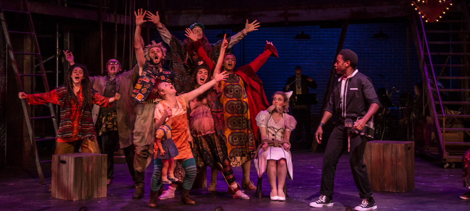 Urinetown, Clarence Brown Theatre, Spring 2018-2